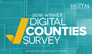 Center for Digital Government 2018 Digital Counties Award Winner